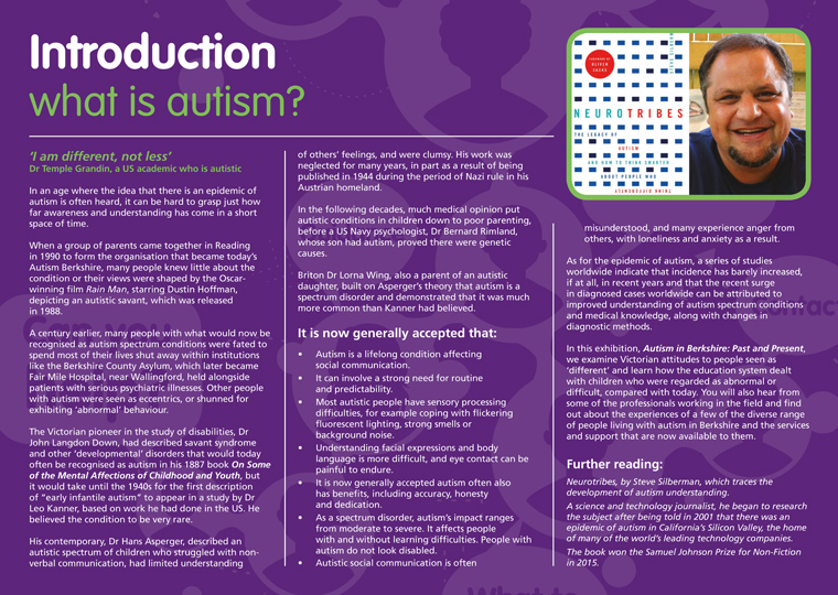Getting Grasp On Autism >> Autism In Berkshire Past And Present Autism Berkshire
