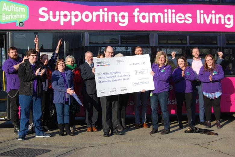 Reading Buses' Charity of Year partnership raises £11,700